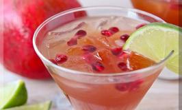 Pomegranate Marguerite Recipe Drink