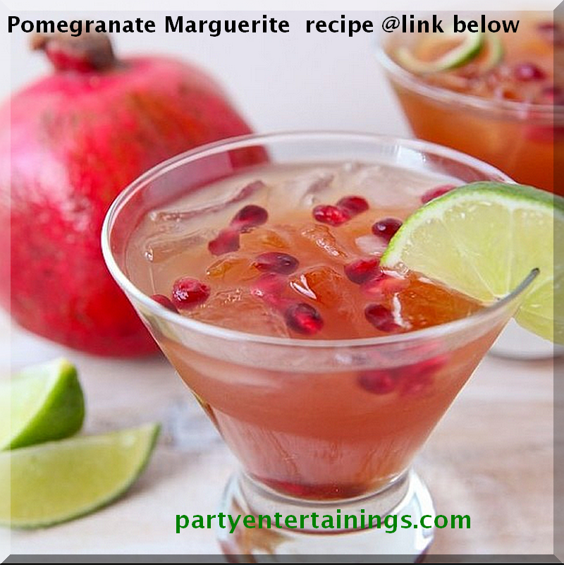 Pomegranate Marguerite Recipe