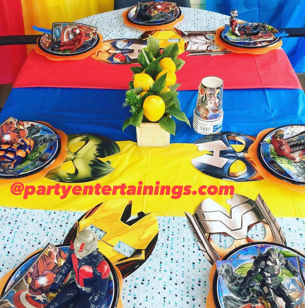 indoor birthday party ideas