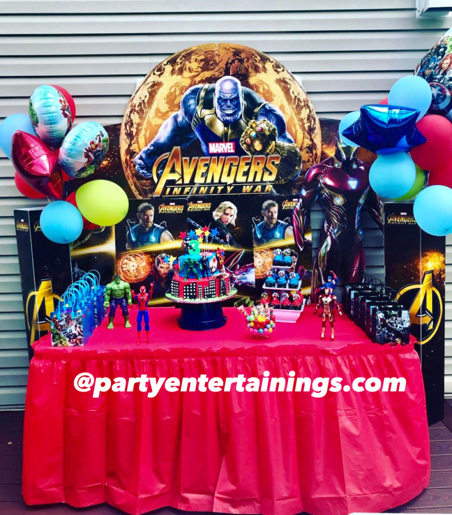 birthday party themes for boys-10 years old