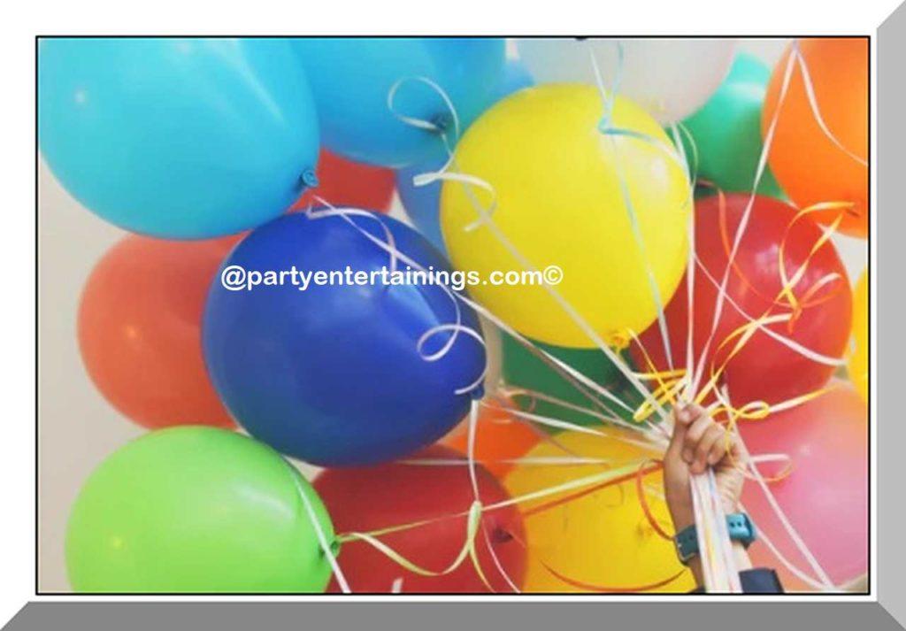 Birthday Party balloons #birthdaypartyballoons
